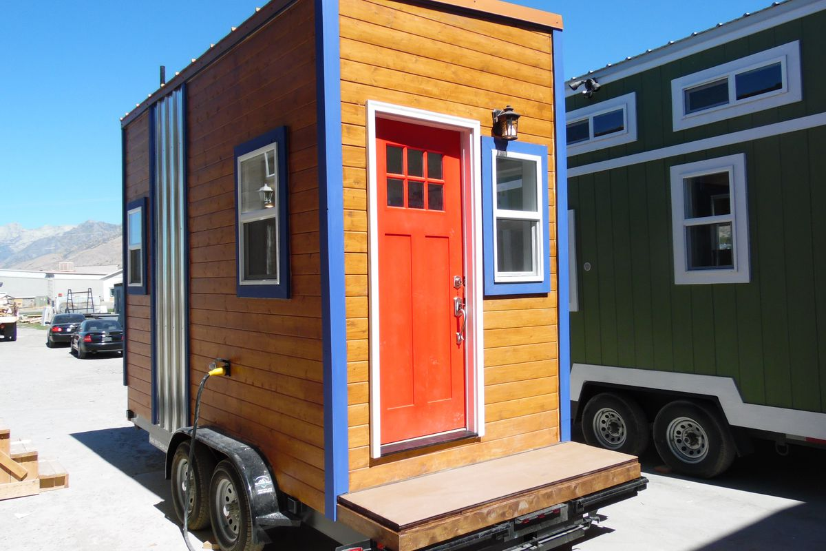 tiny olympia tiny house on wheels for 26k curbed seattle. Black Bedroom Furniture Sets. Home Design Ideas