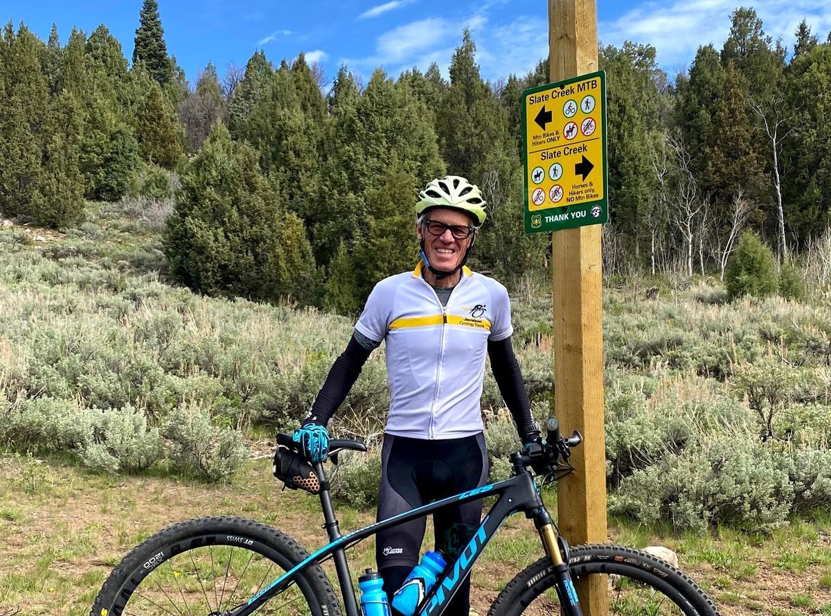 Tom Noaker, South Summit Trails Foundation president.