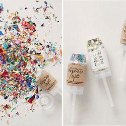 "<b>Confetti!</b> <b>Anthropologie</b> <a href=""http://www.anthropologie.com/anthro/product/clothes-party/32874307.jsp?cm_sp=Grid-_-32874307-_-Regular_8#/"">Confetti Push-Pop</a>, $12 each"