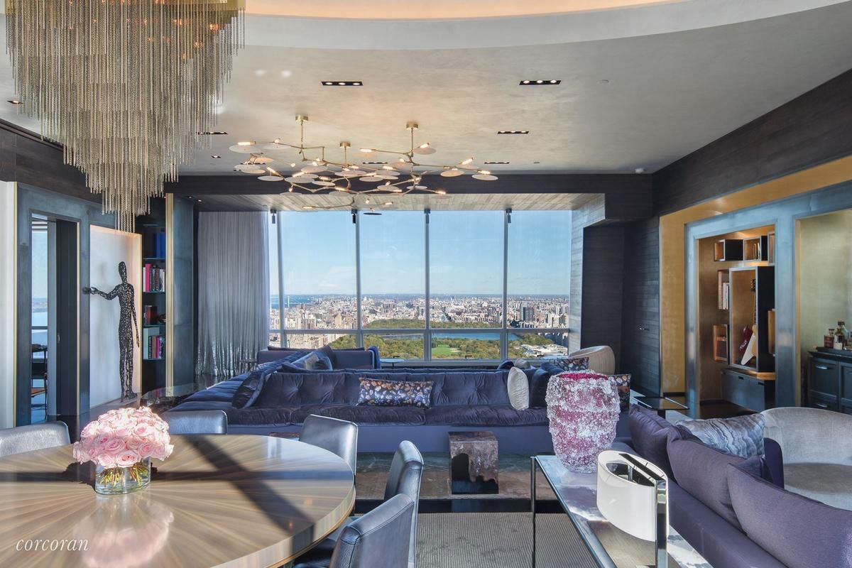 One57 Condo With An Opulent Redesign Seeks 27m Curbed Ny