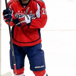 Brouwer At End of TV Timeout