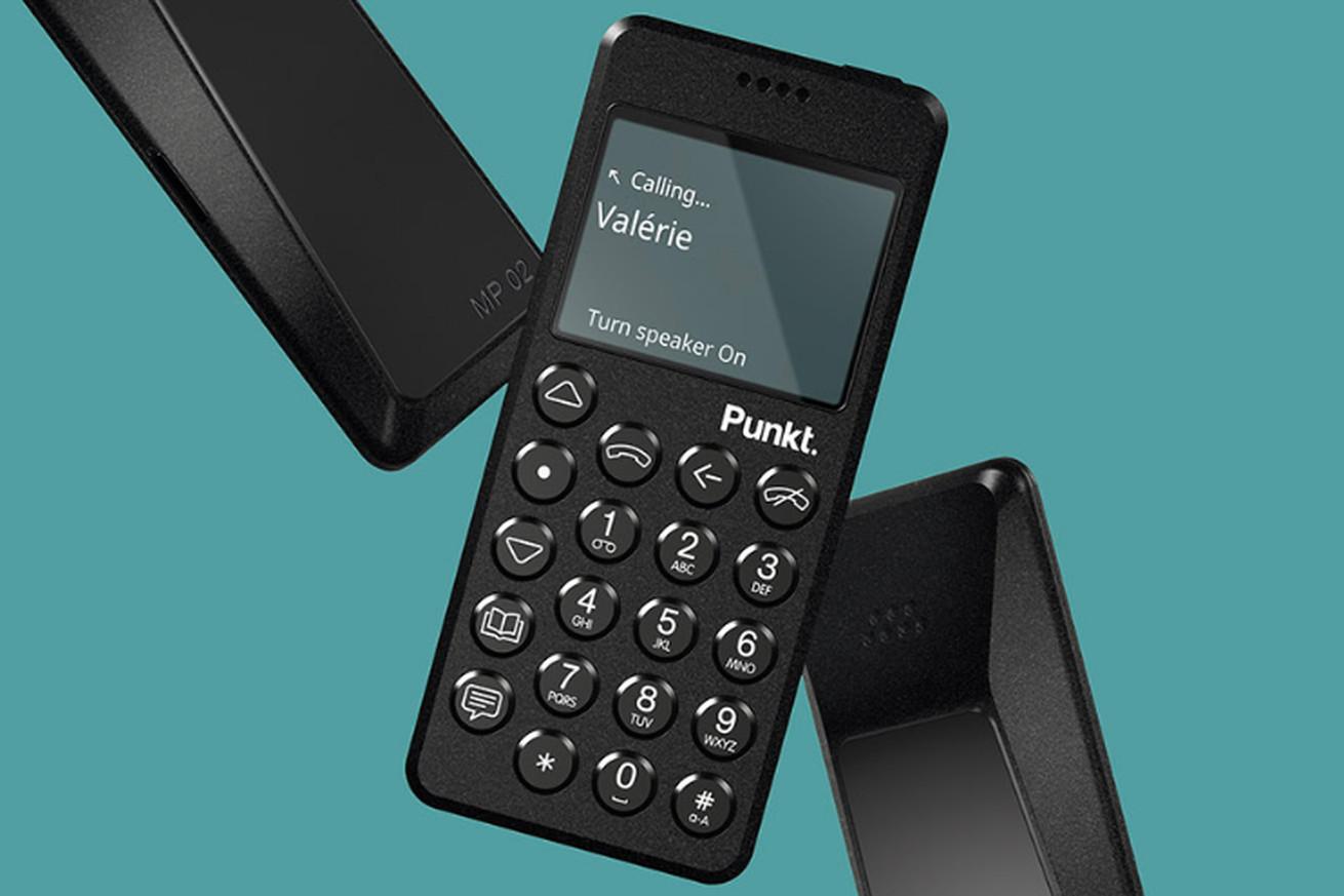 punkt made an lte version of its super minimalist phone