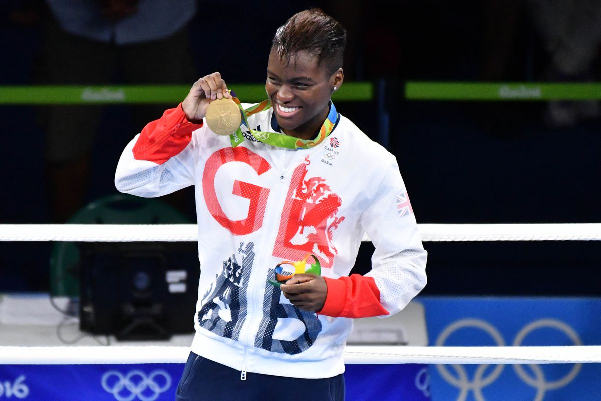 Nicola Adams with her Rio gold.
