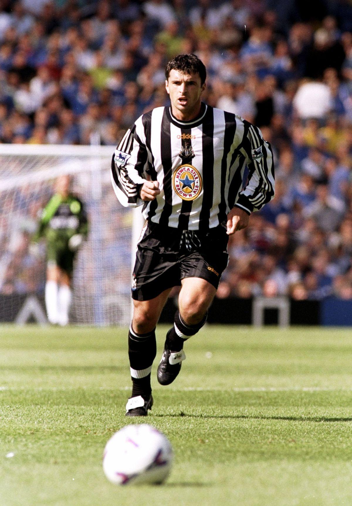 Gary Speed of Newcastle