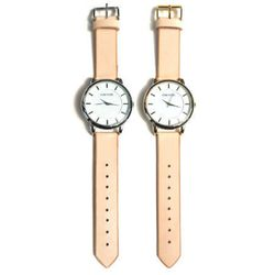 """Cold Picnic handmade natural leather watch, $88 at <a href=""""http://www.coldpicnic.com/collections/watches/products/handmade-natural-leather-watch"""">Cold Picnic</a>."""