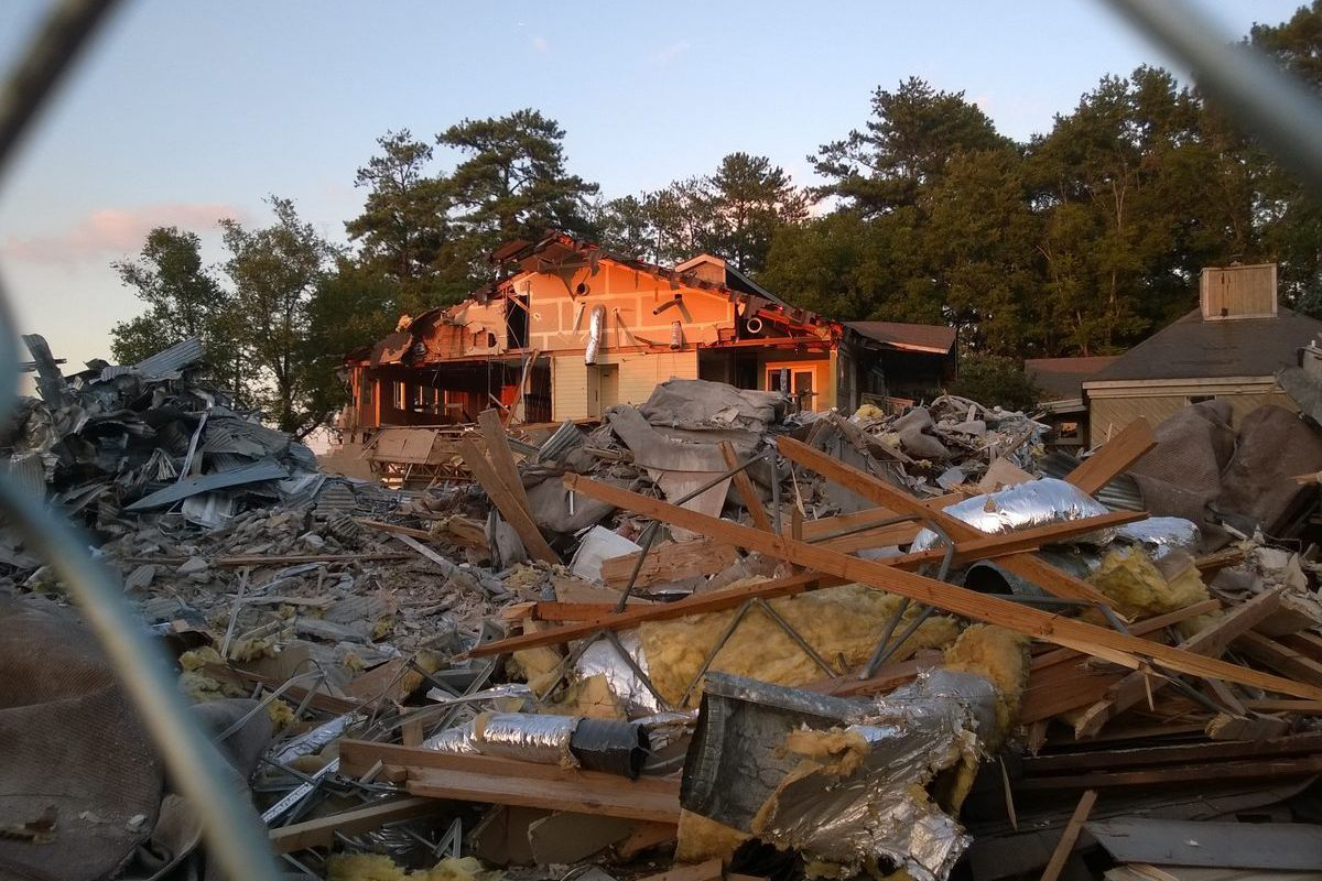 [Demolition charges ahead. All images by Curbed.]