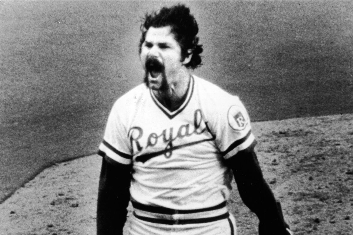 Hrabosky Shouts With Happiness
