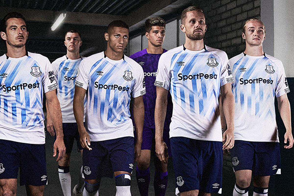 finest selection ffdc2 5fc2b Everton reveal new 2018-19 third kit ahead of Bournemouth ...