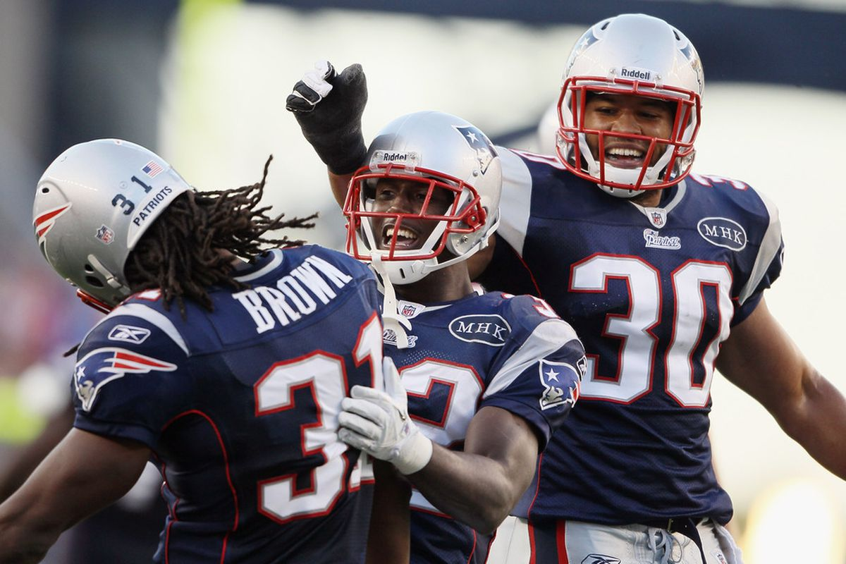 <em>With Patrick Chung out for Sunday, safeties Sergio Brown and Josh Barrett will have to step it up big in Buffalo</em>.