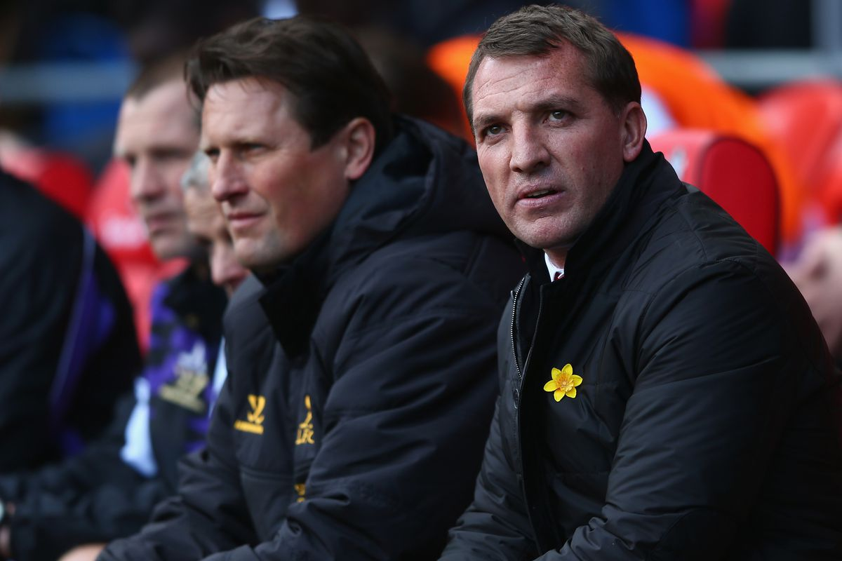 Colly had just suggested Raheem and Sakho as a centre half pairing. Sometimes Brendan wondered...