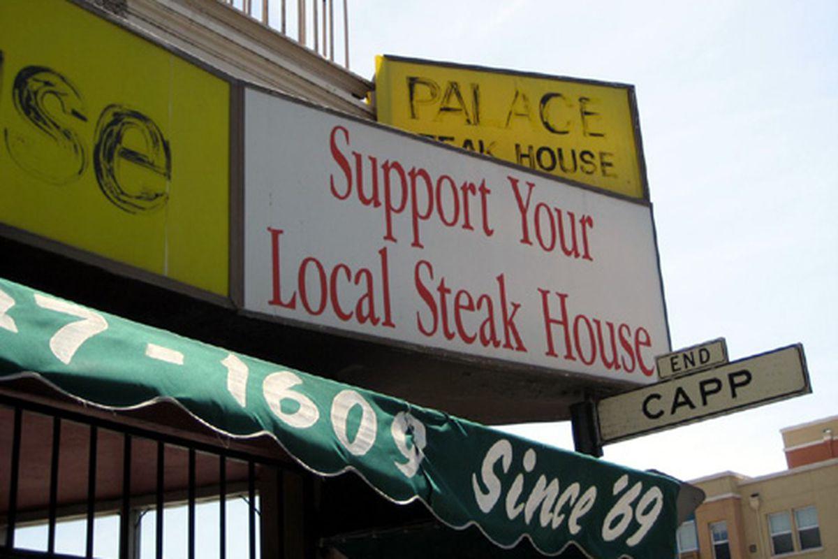Local Steak House. End.