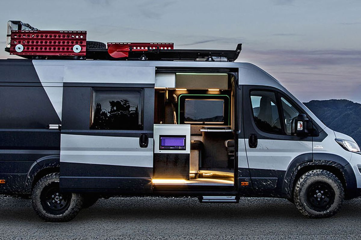The Fiat Ducato 4x4 Camper Is Only Available In Europe All Images Courtesy Of