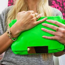This Camille clutch was Erwin's first design and one of the brand's top sellers.