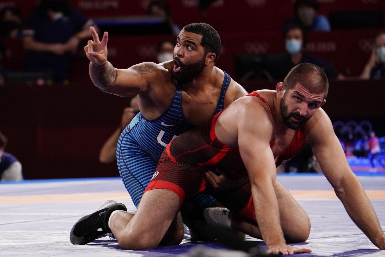 Olympics: Wrestling - Aug 6