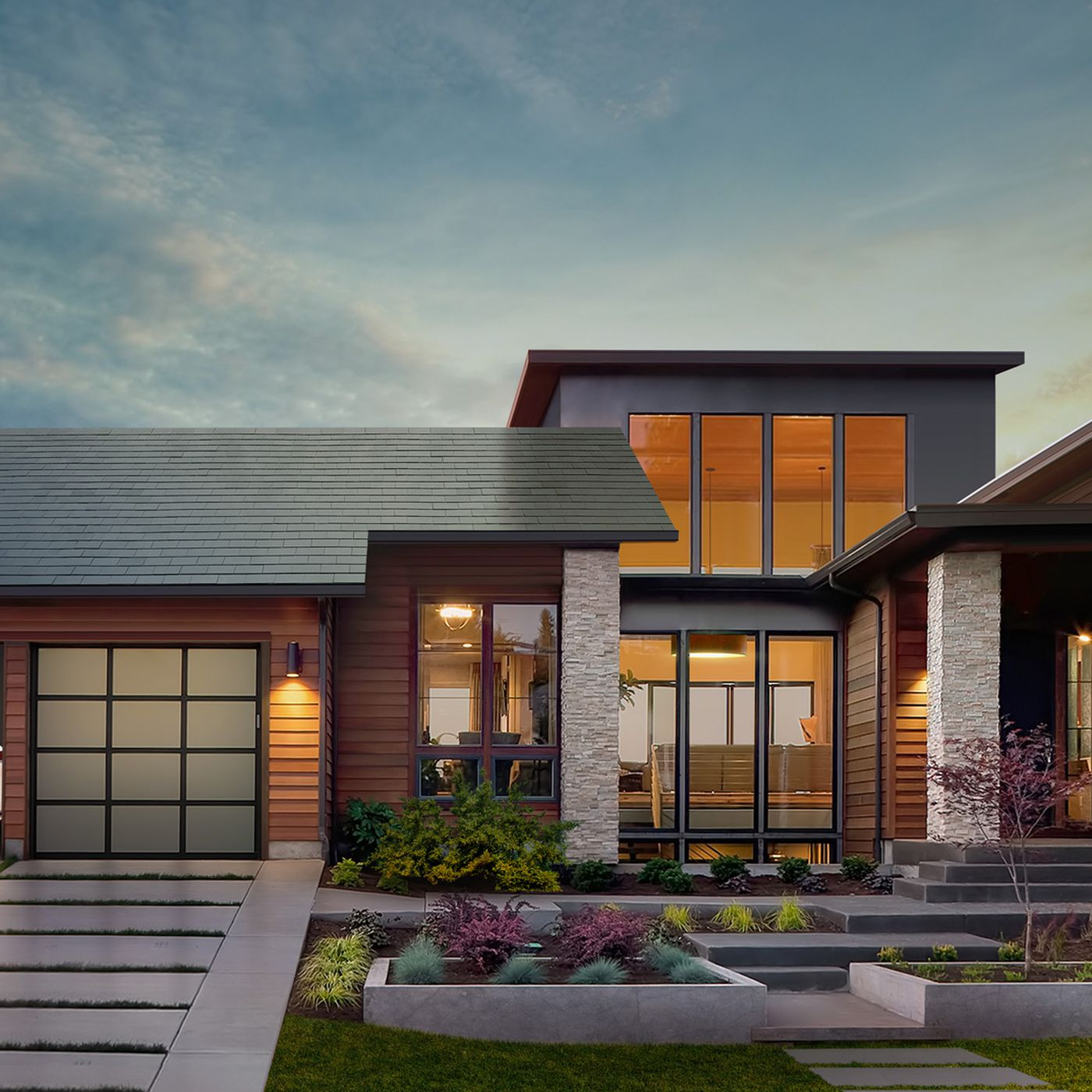 Tesla Solar Roof Order >> Tesla Unveils Residential Solar Roof With Updated Battery Storage
