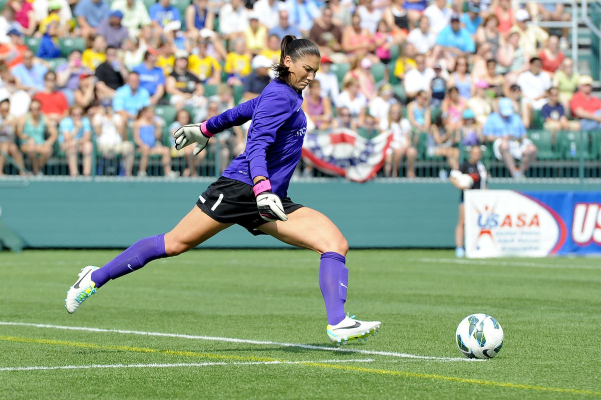 Reign goalkeeper Hope Solo has anchored the league's stingiest defense in 2014.