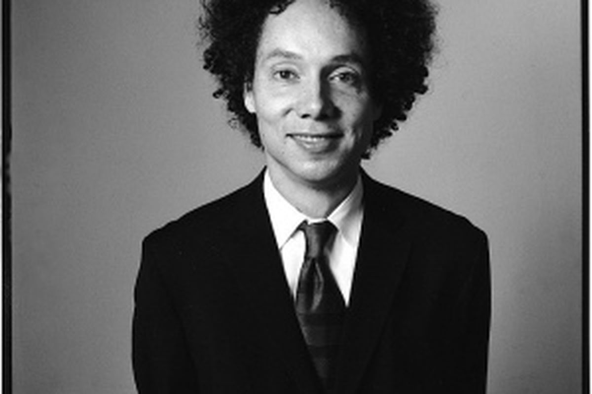 Bestselling author of Blink, Outliers, and The Tipping Point: Malcolm Gladwell.