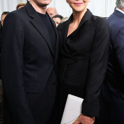 Raf Simons and Maggie Gyllenhaal; Getty Images