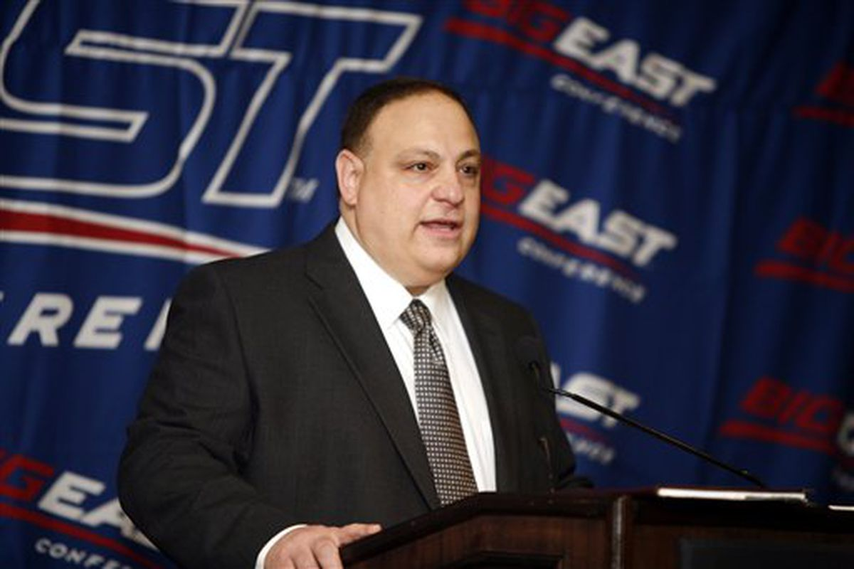 John Marinatto, commissioner of the Big East Conference