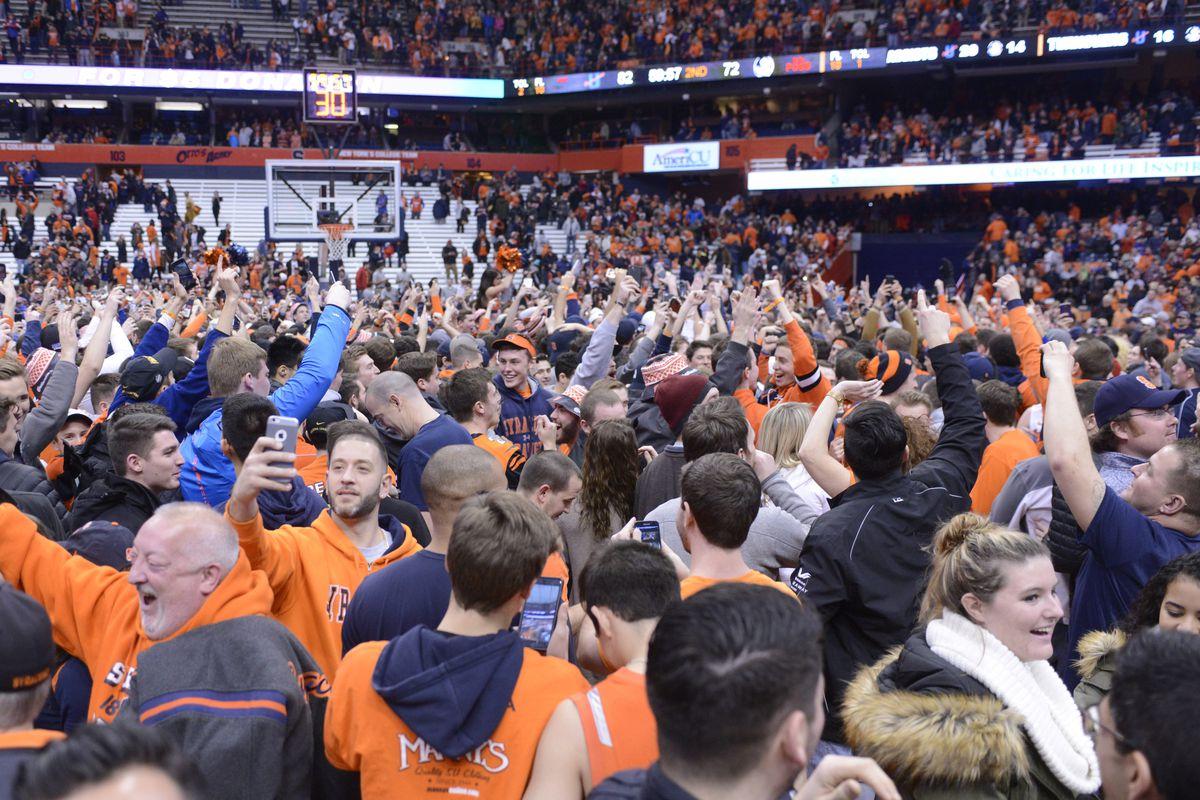 NCAA Basketball: Florida State at Syracuse