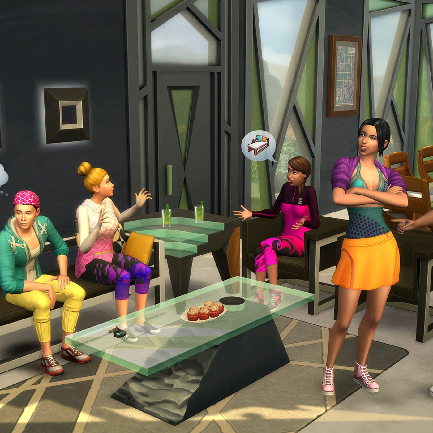 The Sims 4 How One Man Makes A Living Off Sims Mods Vox