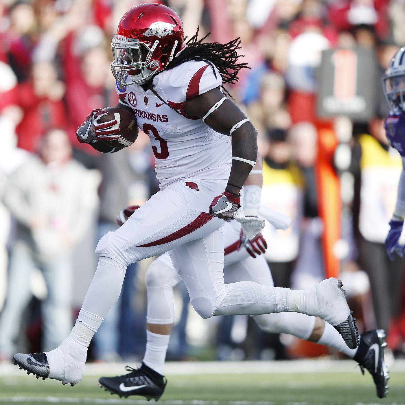 Alex Collins Declares For NFL Draft; Arkansas Running Back Will ...