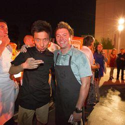Jason Wang and Matt Lackey
