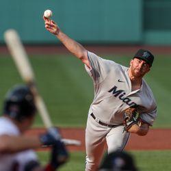 Zach Thompson, Marlins starting pitcher on Saturday