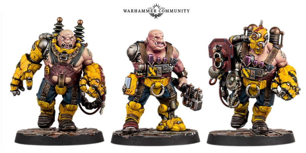 Ogryn as portrayed in the tabletop game.