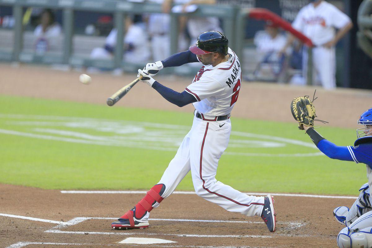 MLB: AUG 06 Blue Jays at Braves