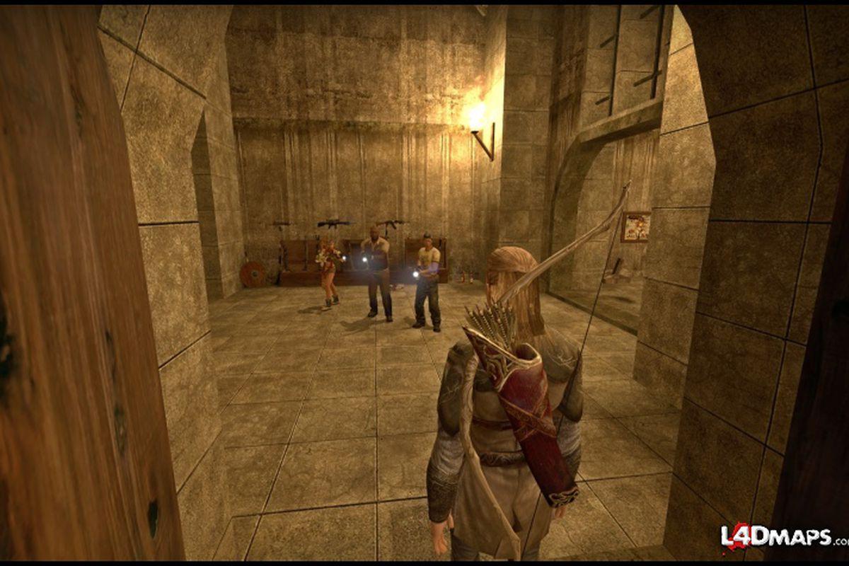 Left 4 Dead 2 developer adds Helm's Deep Reborn map to