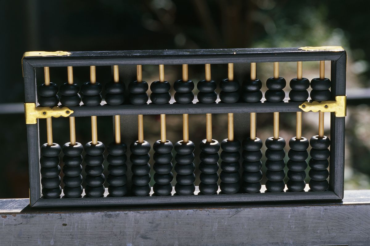 I learned how to do math with the ancient abacus — and it