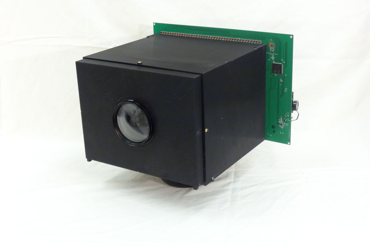 This simple self-powered camera can run indefinitely off the light that enters its lens.