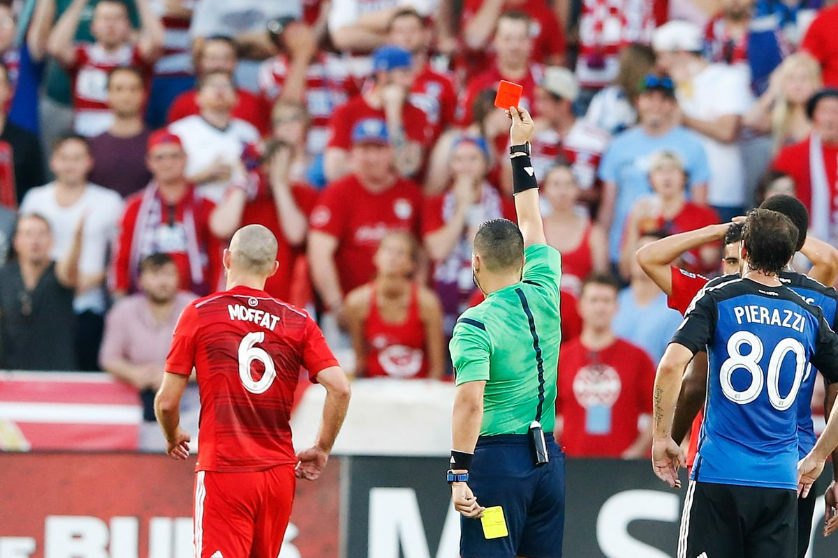 Story of the season so far has been the slice of red paper shown to the team in red