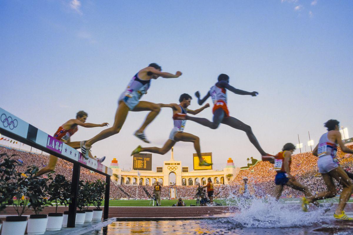 1984 Olympics - Men's 3000 Meter Steeplechase