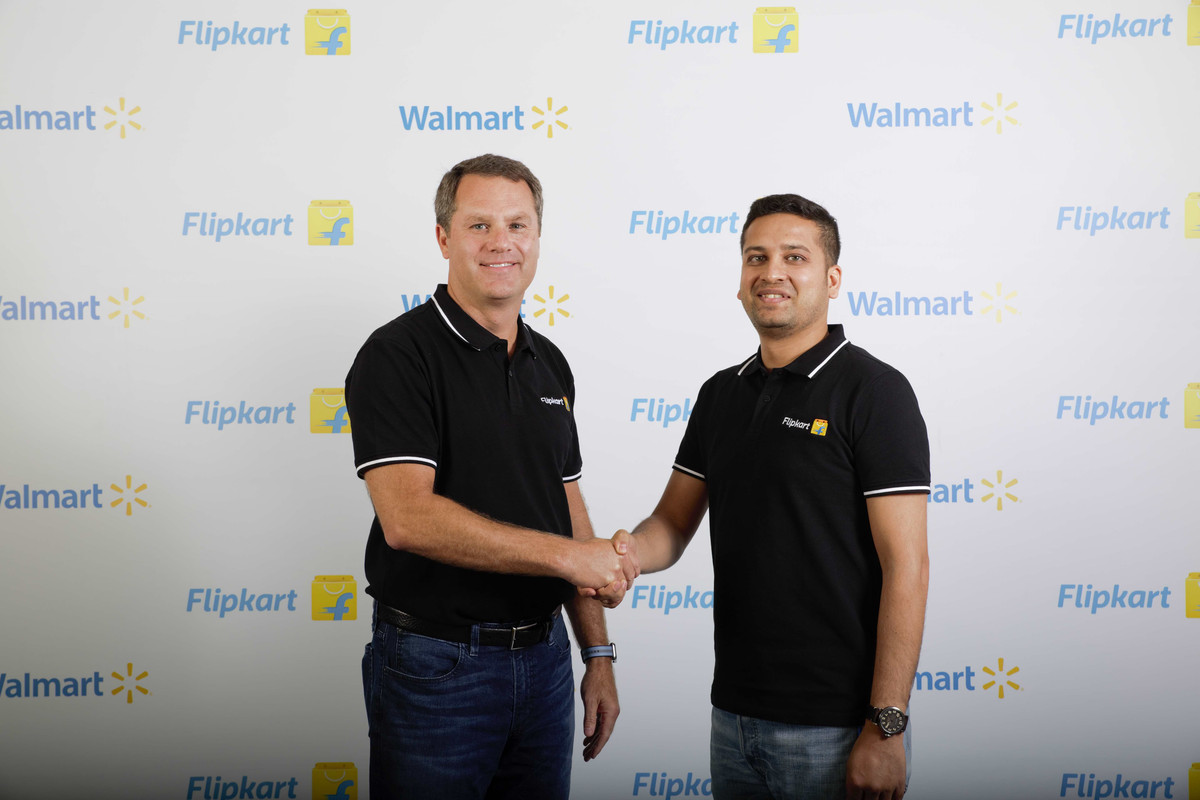 Image result for binny bansal and walmart ceo
