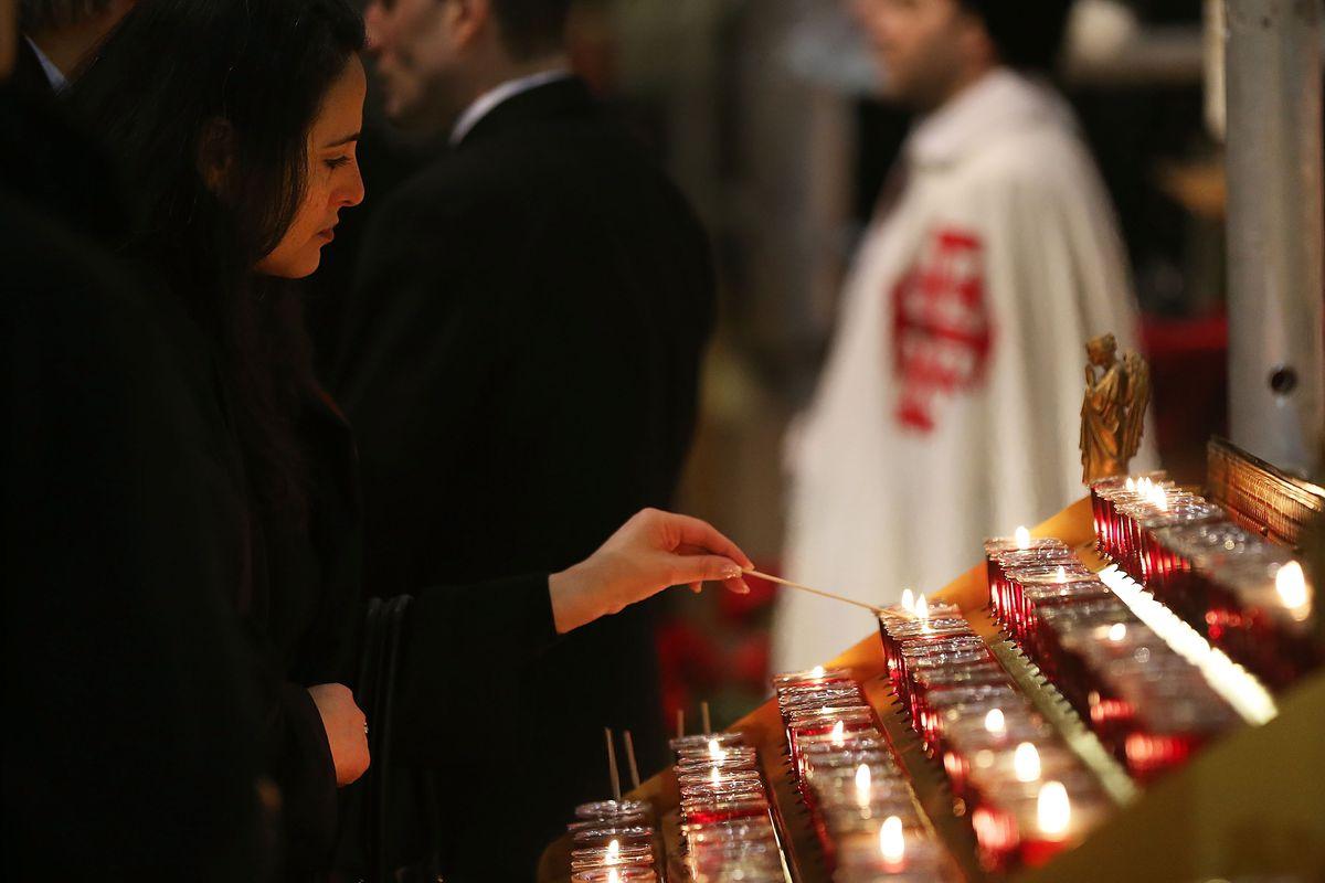 Funeral For Edward Cardinal Egan Held In New York City
