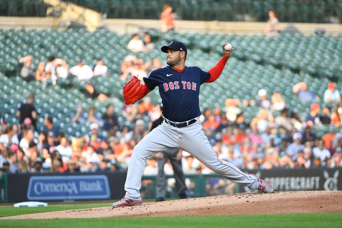 MLB: AUG 04 Red Sox at Tigers