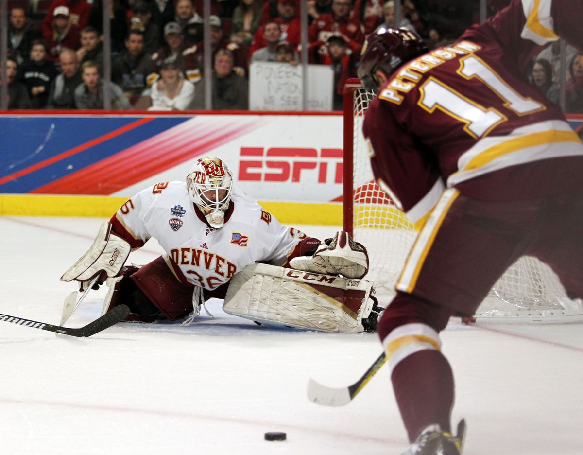 NCAA Hockey: Frozen Four-Denver vs Minnesota-Duluth