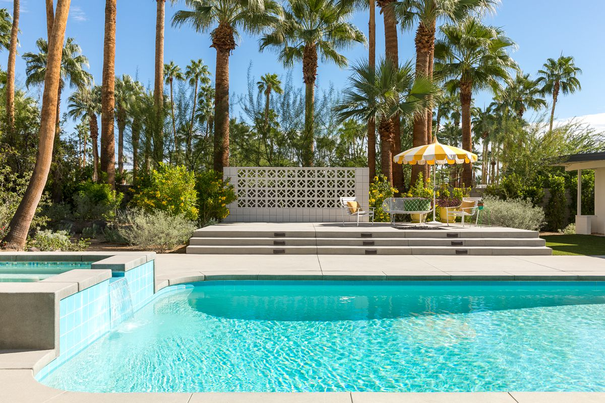 Palm Springs midcentury with pool and panoramic views asks ...