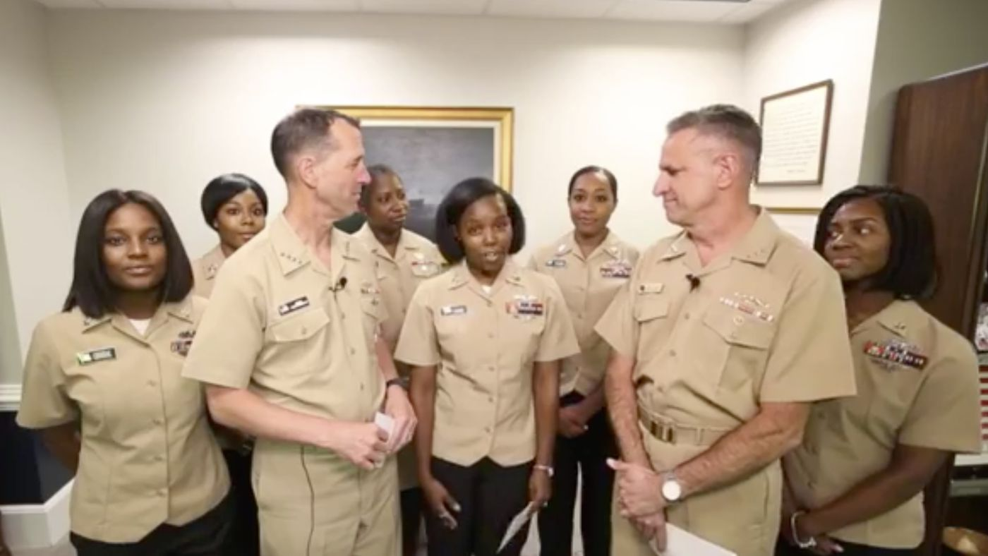 The Navy's Hair Policy Update Includes Locs, Ponytails, and