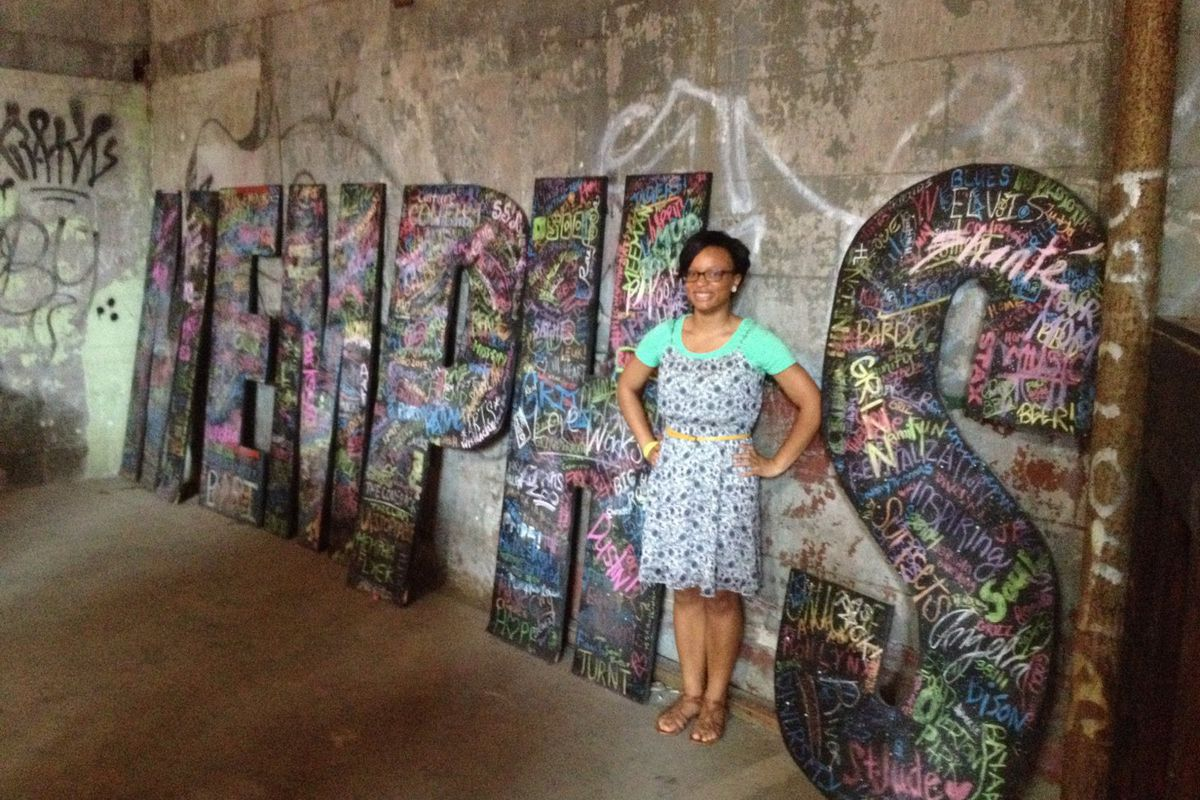 Samara Francisco is trying to bring more projects into her Soulsville Charter School classroom this year.