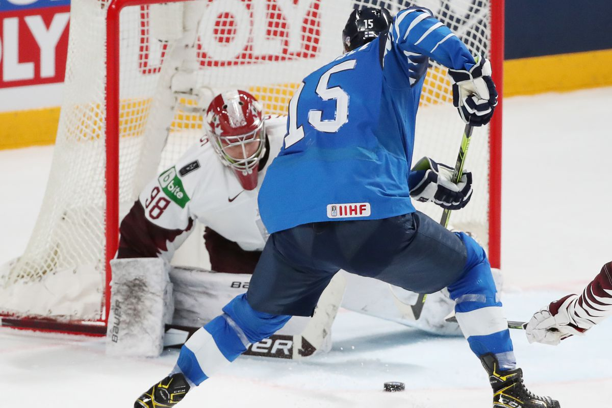 2021 IIHF World Championship, Group B: Finland 3 - 2 Latvia