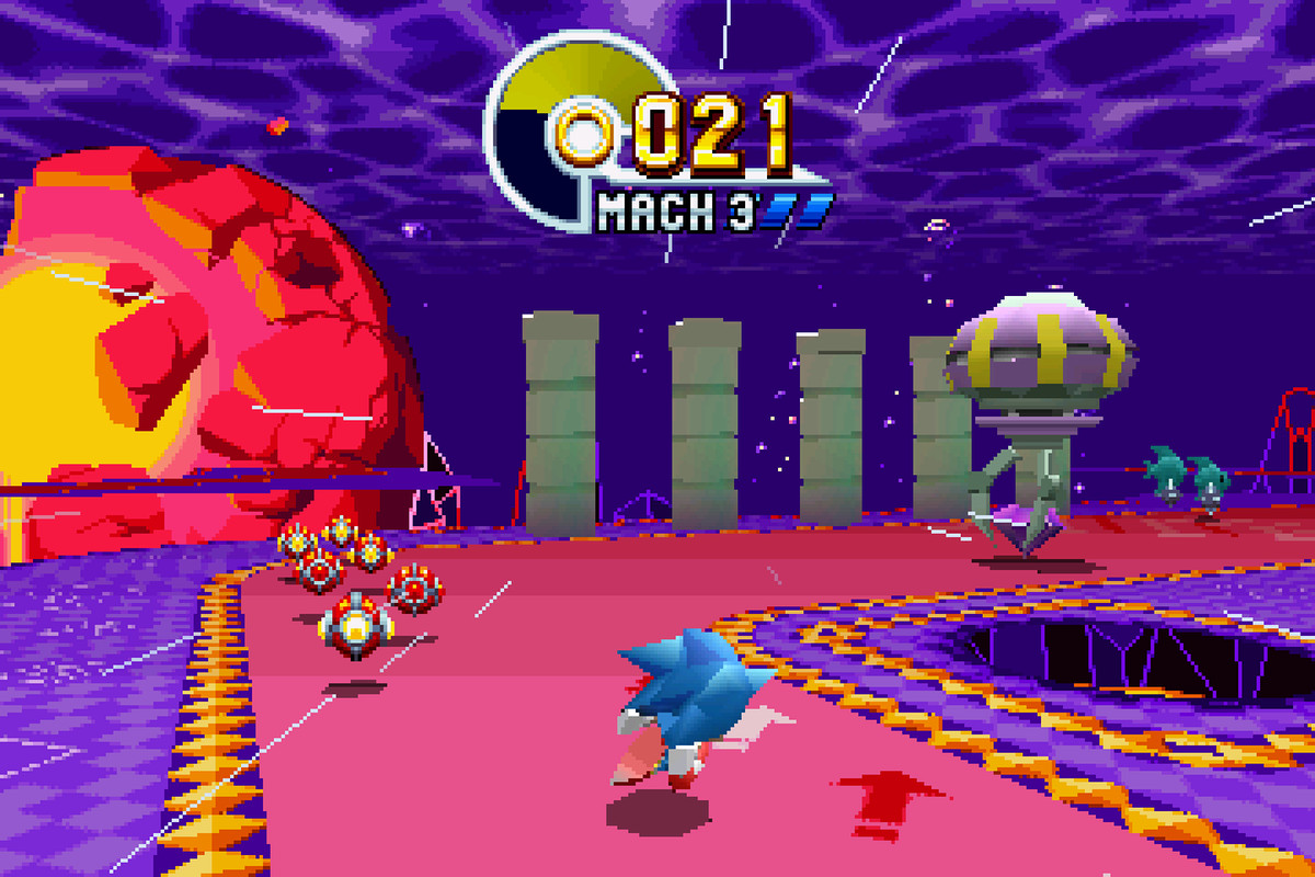 Sonic Mania giant ring locations - Polygon