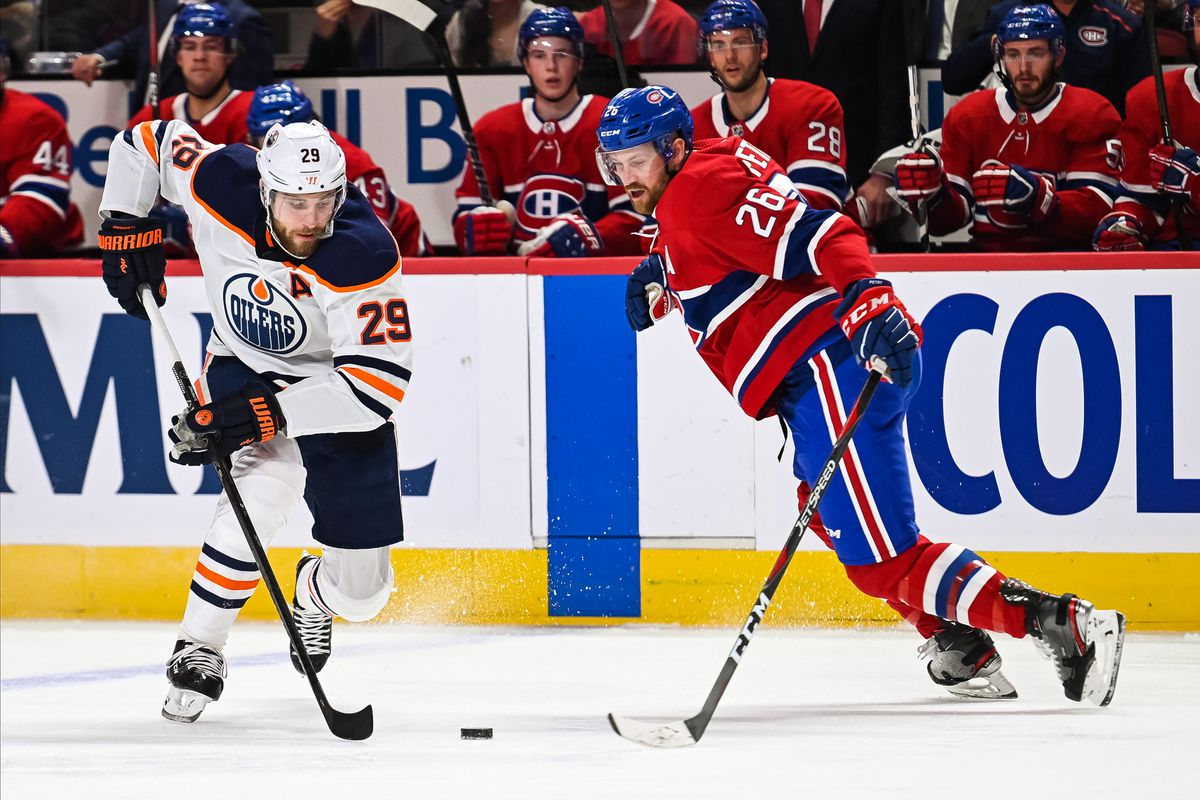NHL: JAN 09 Oilers at Canadiens