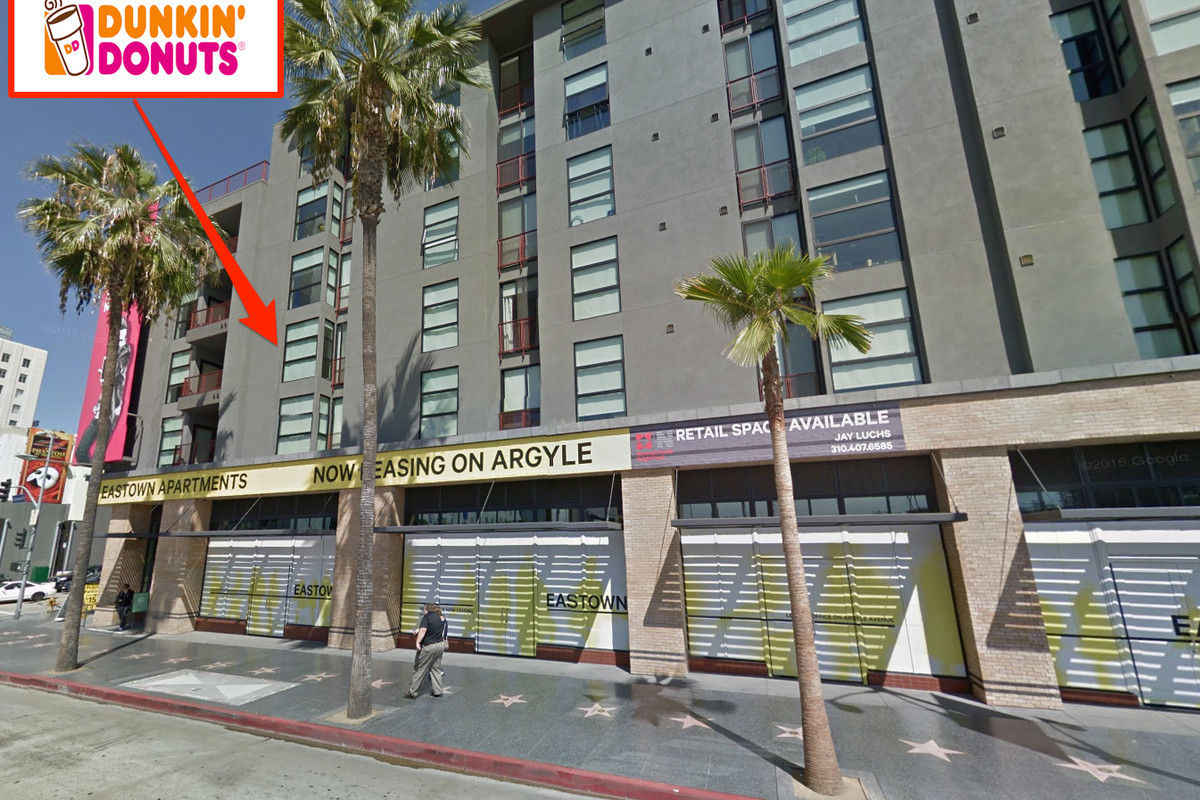 Dunkin' Donuts, Hollywood