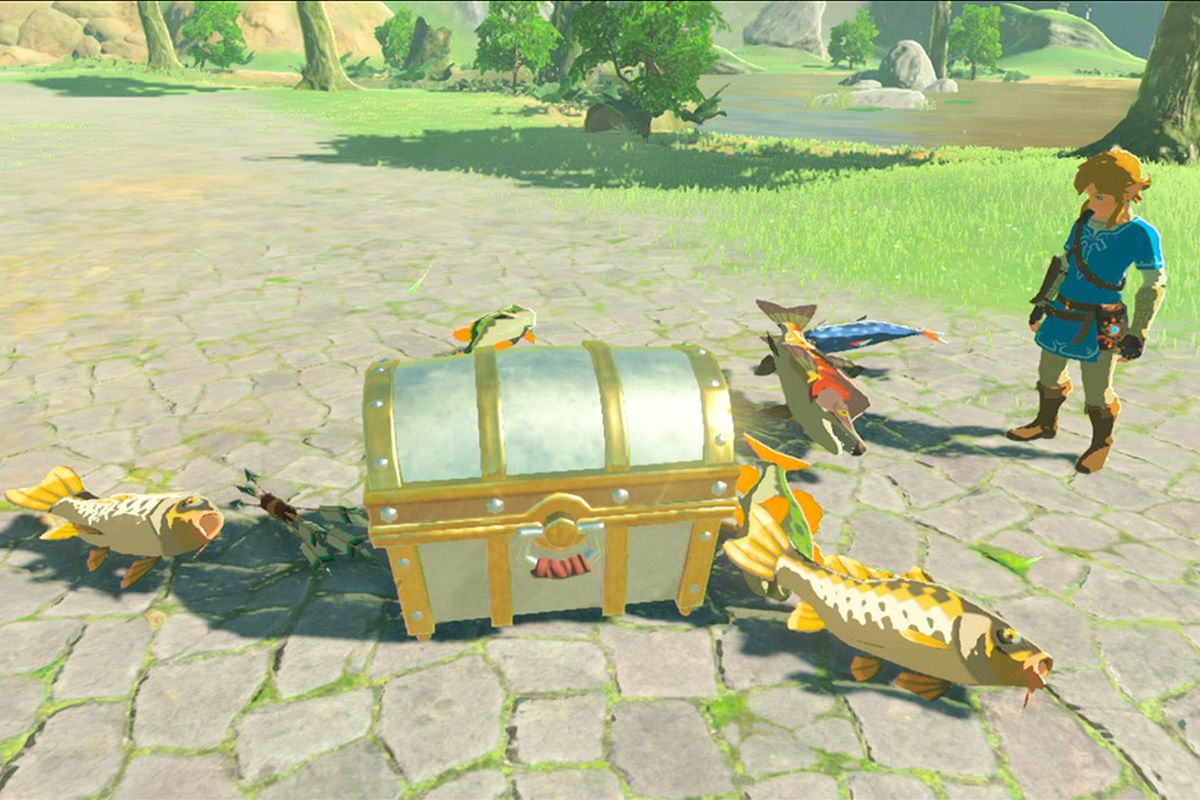 The new legend of zelda amiibo will airdrop meat for link in