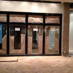 Guests will enter through this vestibule