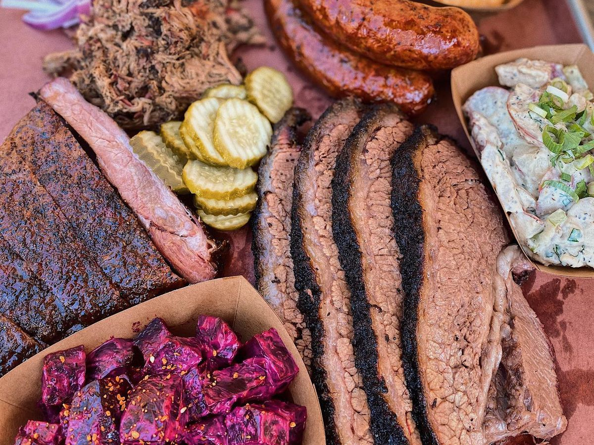 Barbecue and sides from Micklethwait Craft Meats