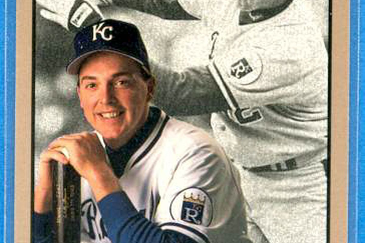 Wally Joyner. The only good Royal hitter in April of '92.